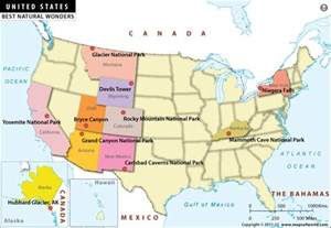 buy wonders of usa map
