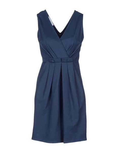 Dress Blue Kaos kaos dress in blue slate blue save 61 lyst
