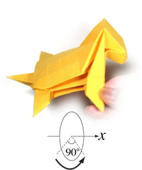 Origami Tiger Step By Step - how to make a standing origami tiger page 29