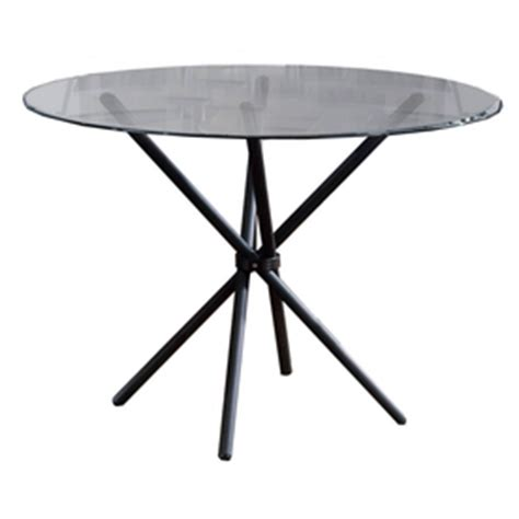 Table Tops Lowes by Hillsdale White Riverview Cierra Glass Top Dining