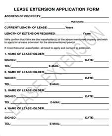 lease extension template 32 lease agreement forms in pdf