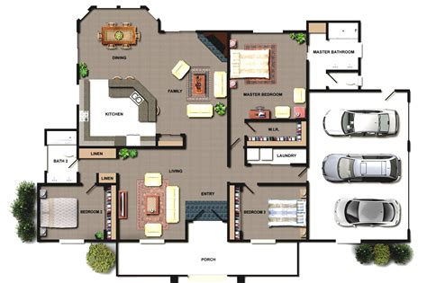 architecture floor plan architectural design house plans home design