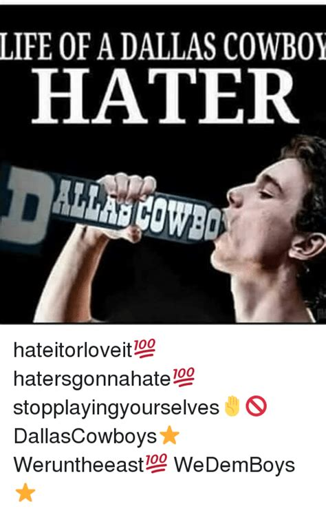 Cowboy Hater Memes - funny hater memes of 2017 on sizzle toh