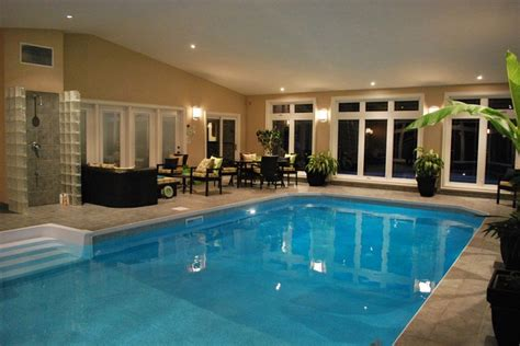 swimming pool room indoor swimming pool design for a great modern style house