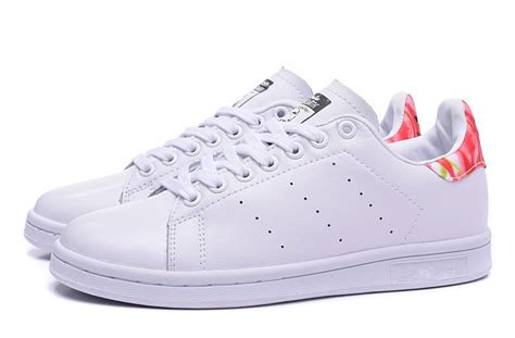 Adidas Color Splash For Man40 44 womens and mens stan smith shoes white and flowers top