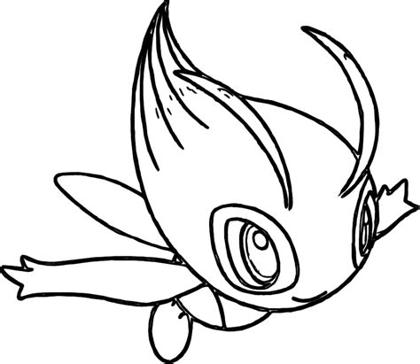 pokemon coloring pages celebi i have download pokemon celebi coloring pages quincy
