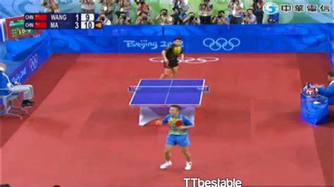 Tenis Meja Mexico wang hao a legend forever doovi