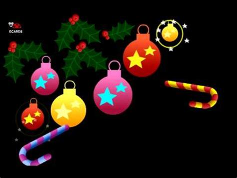 animated musical  cards christmas tree youtube