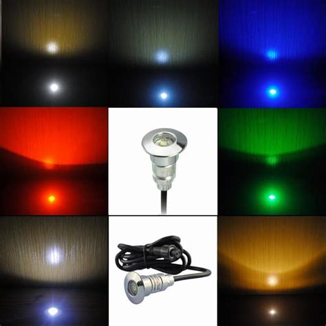 Underground Lighting Fixtures 7colors Dhl Free 50pcs Lots Ip65 Warm White Led Underground Lighting Fixtures For Outdoor