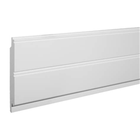 Pvc Wainscoting Wall Panel Shop Azek 5 5 In X 8 Ft Single Bead White Pvc Wainscoting