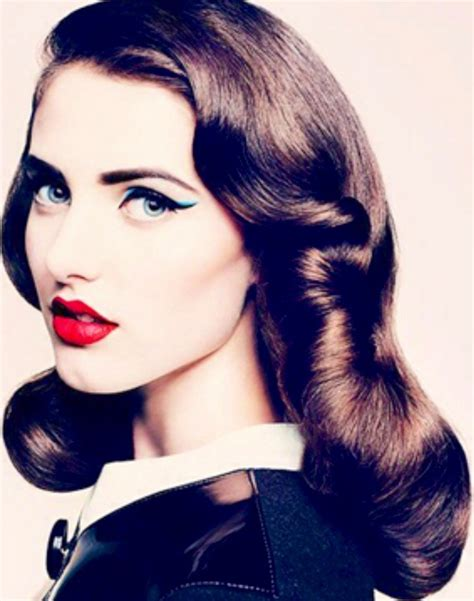 40s Hairstyle by Is In The Hair 187 Amazing 40s Hairstyle