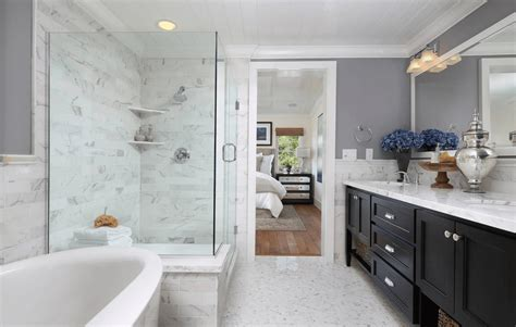bathroom with separate shower and bathtub small bathroom with separate bath and shower home decor