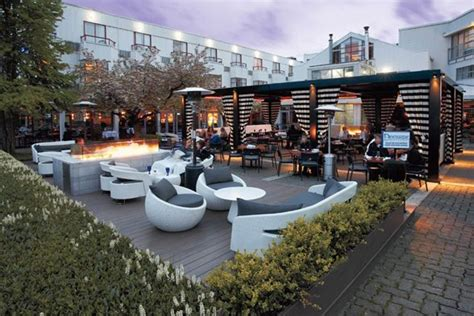 design house yaletown restaurant exterior covered patio design agency