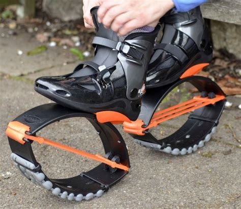 shoes with springs work why can we cycle faster than we can run physics