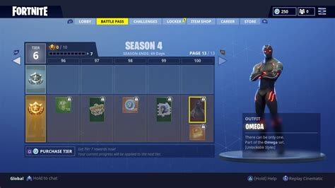 fortnite omega fortnite omega skin what are the tier 100 omega skin