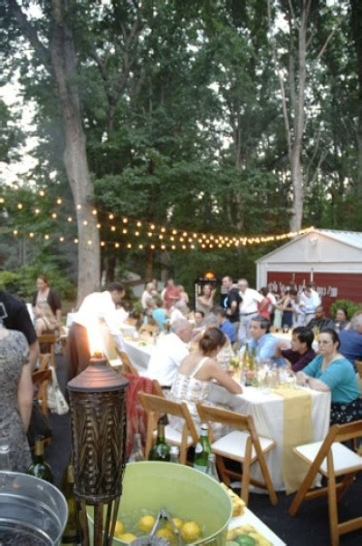 casual backyard wedding reception 7 tips to help you have a great backyard wedding