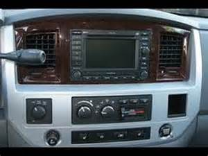 Dodge Ram Stereo How To Remove Radio Cd Changer Navigation From 2008