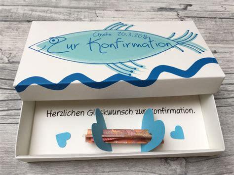 geldgeschenke geldgeschenk zur konfirmation handmade box