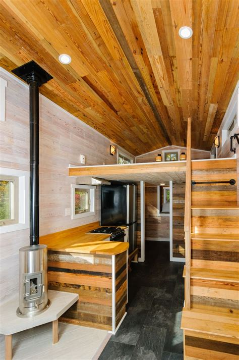 tiny houses in north carolina the mh wishbone tiny homes a 240 square feet tiny house on wheels in asheville