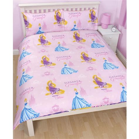 design studio sparkle princess 4 piece comforter set disney princess sparkle bedroom range duvet covers