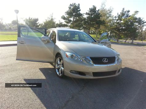 lexus sedan 2008 2008 lexus gs350 base sedan 4 door 3 5l