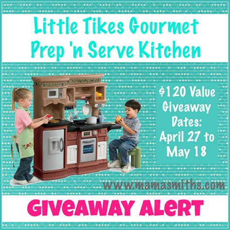 Kitchen Giveaway - little tikes gourmet kitchen giveaway mama smith s blog