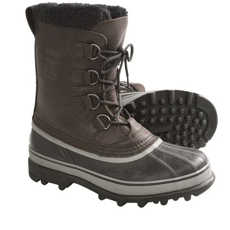 winter waterproof boots for sorel caribou wool winter pac boots waterproof