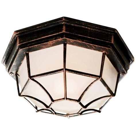 outdoor web spider web 11 quot flush mount outdoor light 236094