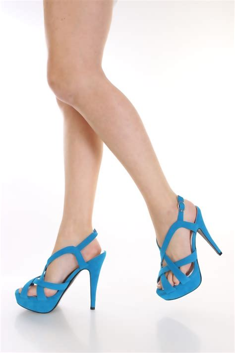 light blue strappy heels light blue velvet strappy heels shoes pinterest blue