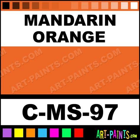 mandarin orange moroccan sand ceramic paints c ms 97 mandarin orange paint mandarin orange
