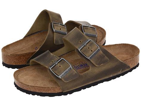 birkenstock bed birkenstock arizona soft footbed antique dune mens sandals