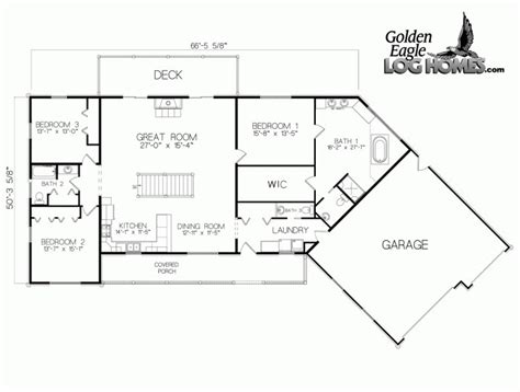 home office floor plans golden eagle log and timber homes floor plan details