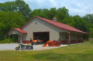 Morton Building Garage by Morton Buildings Hobby Garage In Indiana Hobby Garages