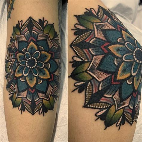 tattoo mandala codo the 25 best colorful mandala tattoo ideas on pinterest