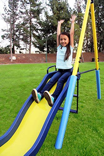 swing first sportspower my first metal swing set homegoodsreview