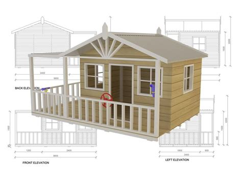 plans for a cubby house free cubby house design plans house decor