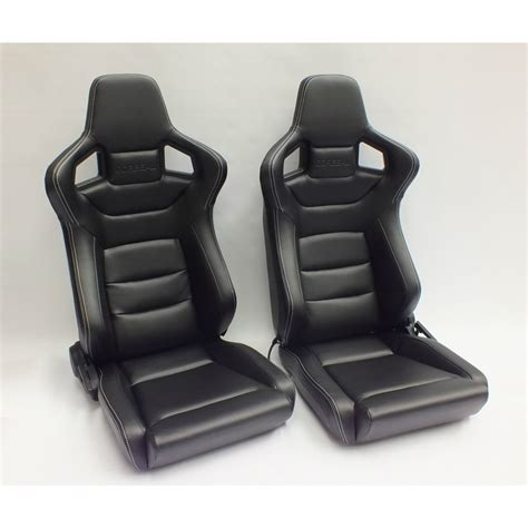 reclining sports seats corbeau sportline rrs low base reclining sport seat gsm