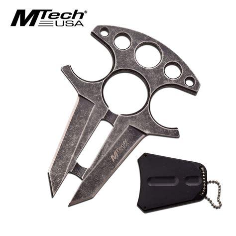 push knife fixed blade knife mtech fixed blade push dagger