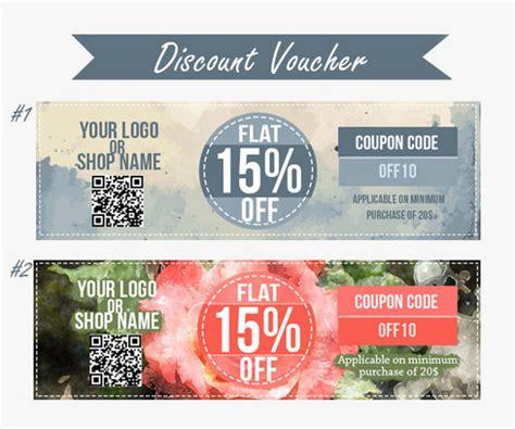 coupon voucher design template 39 free word jpg psd