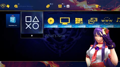 girl themes for ps4 kof xiv original theme quot psychic girl quot on ps4 official