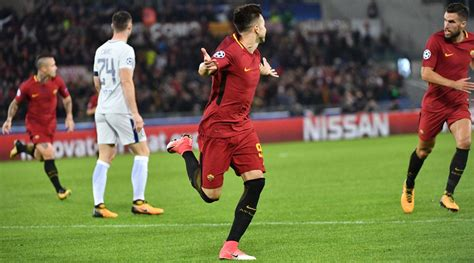 chelsea roma highlights chions league roma thrashes chelsea psg rolls video