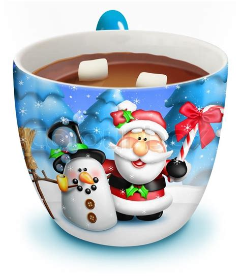 how many copies of a cup of christmas tea sold cup of chocolate stock photo colourbox