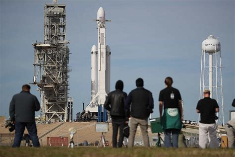 spacex set to launch world s most powerful rocket the spacex poised to launch world s most powerful rocket