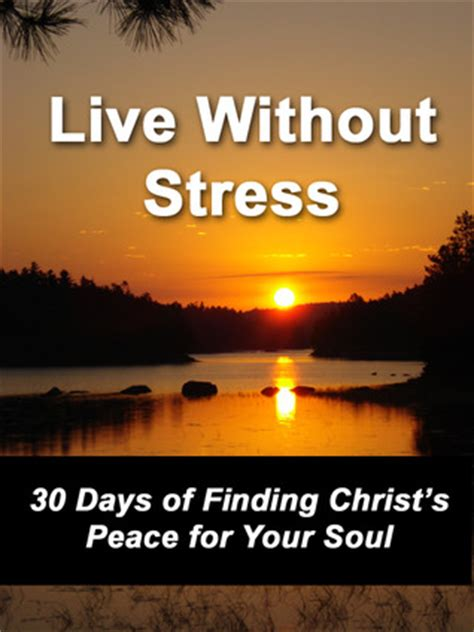 how to overcome anxiety and find peace 30 days to equip for s storms books live without stress 30 days of finding s peace for