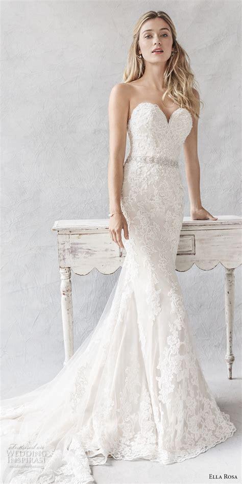 Sweetheart Wedding Dress by Ella Rosa 2017 Wedding Dresses Wedding Inspirasi