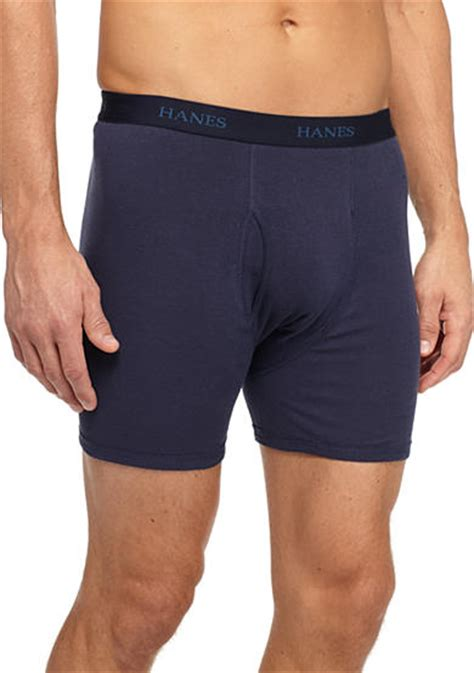 The Ultimate Boxer Shorts For Your by Hanes 174 Ultimate Boxer Briefs 5 Pack Belk
