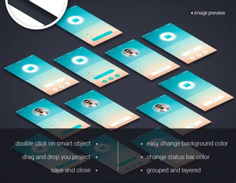 app layout mockup perspective app screens mock up freebies psd