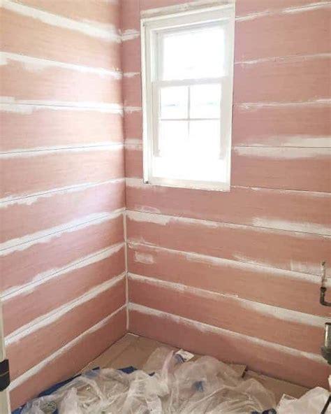 Shiplap Sheathing by Beautiful Shiplap Walls From Cheap Plywood