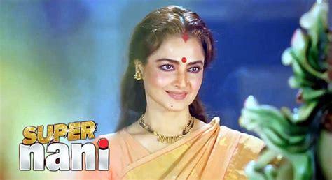 rekha super nani rekha in super nani movie photo super nani on rediff pages