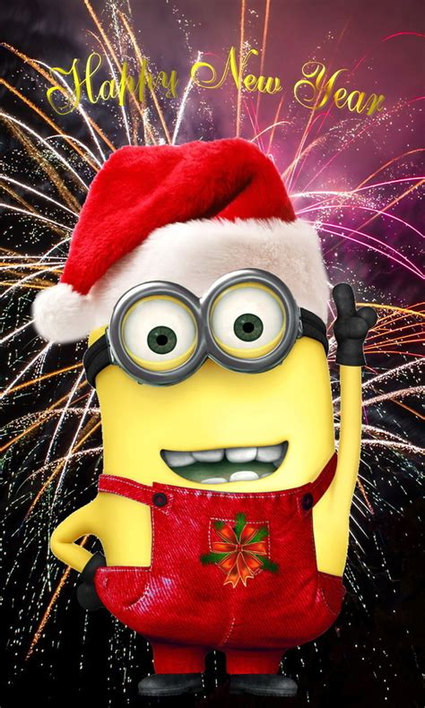 happy  year minion quotes